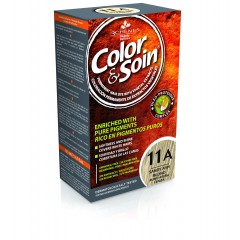 Color&Soin, permanentna barva za lase 11A - pšenično pepelnata blond