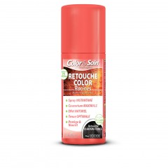 Color&Soin RETOUCHE razpršilo za prekrivanje narastka / TEMNO KOSTANJEVA