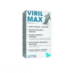 Viril max, prehransko dopolnilo za stimulacijo moškega libida*, 4 kapsule