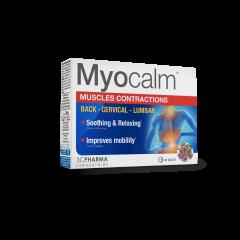 Myocalm, prehransko dopolnilo pri mišičnih krčih, 30 tablet