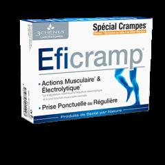 Eficramp, pri mišičnih krčih, 30 tablet