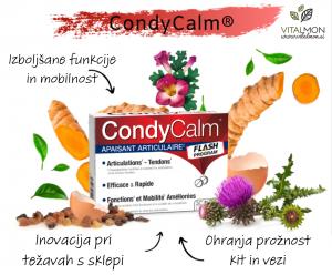 Condycalm - za bolečine v sklepih